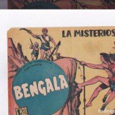 Tebeos: BENGALA-LA MISTERIOSA SITA. Lote 176055430