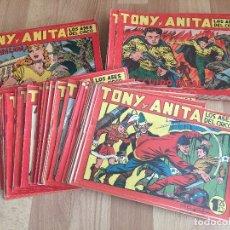 Giornalini: LOTE 119 NUMEROS TONY Y ANITA - DEL 1 AL 119 CONSECUTIVOS - MAGA, ORIGINAL - GCH. Lote 176061870