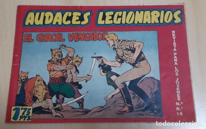 AUDACES LEGIONARIOS - MAGA / NÚMERO 12 (Tebeos y Comics - Maga - Otros)