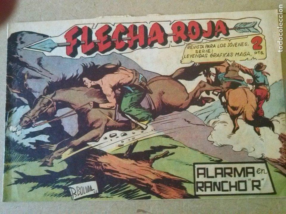 FLECHA ROJA Nº 65 - RESERVADO (Tebeos y Comics - Maga - Flecha Roja)
