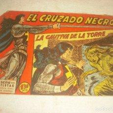 Tebeos: EL CRUZADO NEGRO N. 5, ORIGINAL. Lote 177369648