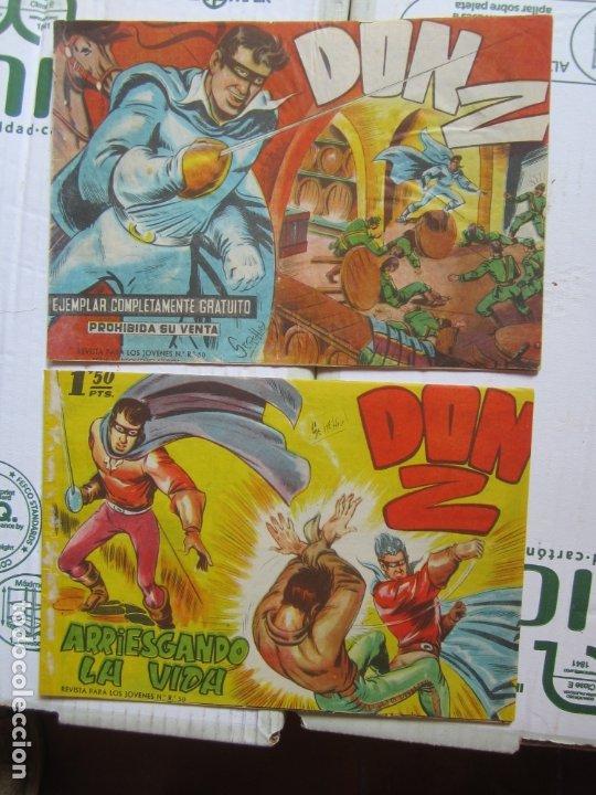 Tebeos: DON Z , 90 ejemplarres , coleccion completa , maga 1959 , original , cada uno en su funda - Foto 8 - 177654960