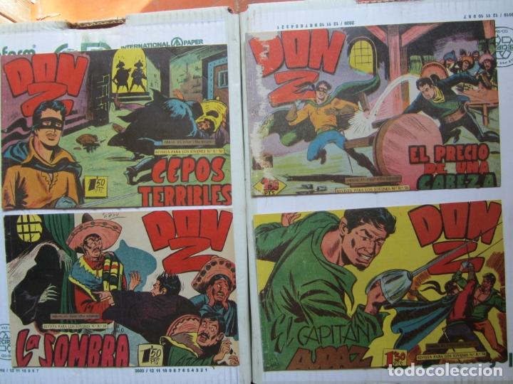 Tebeos: DON Z , 90 ejemplarres , coleccion completa , maga 1959 , original , cada uno en su funda - Foto 13 - 177654960
