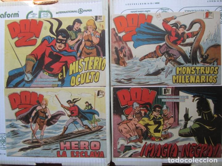 Tebeos: DON Z , 90 ejemplarres , coleccion completa , maga 1959 , original , cada uno en su funda - Foto 16 - 177654960