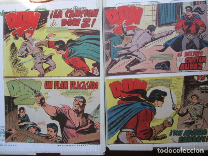 Tebeos: DON Z , 90 ejemplarres , coleccion completa , maga 1959 , original , cada uno en su funda - Foto 19 - 177654960