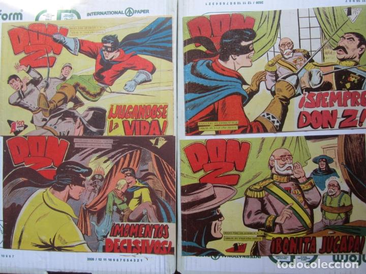 Tebeos: DON Z , 90 ejemplarres , coleccion completa , maga 1959 , original , cada uno en su funda - Foto 22 - 177654960