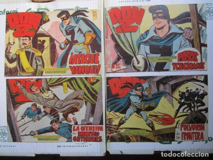 Tebeos: DON Z , 90 ejemplarres , coleccion completa , maga 1959 , original , cada uno en su funda - Foto 23 - 177654960