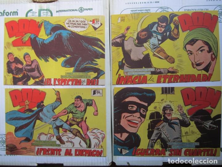 Tebeos: DON Z , 90 ejemplarres , coleccion completa , maga 1959 , original , cada uno en su funda - Foto 24 - 177654960