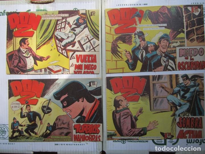 Tebeos: DON Z , 90 ejemplarres , coleccion completa , maga 1959 , original , cada uno en su funda - Foto 25 - 177654960