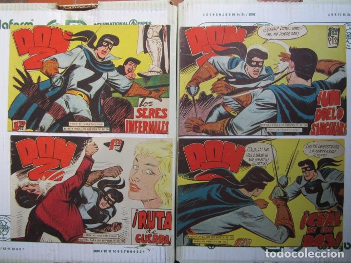 Tebeos: DON Z , 90 ejemplarres , coleccion completa , maga 1959 , original , cada uno en su funda - Foto 26 - 177654960