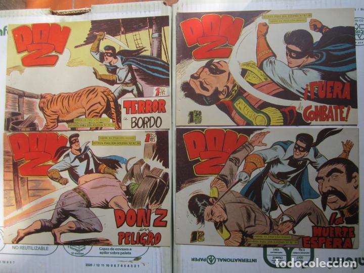 Tebeos: DON Z , 90 ejemplarres , coleccion completa , maga 1959 , original , cada uno en su funda - Foto 29 - 177654960
