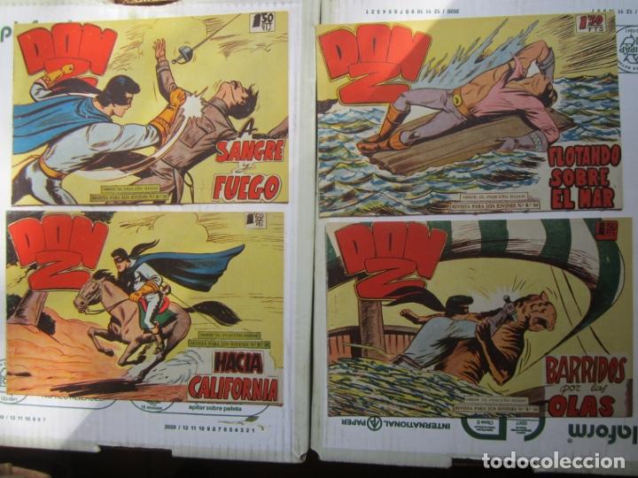 Tebeos: DON Z , 90 ejemplarres , coleccion completa , maga 1959 , original , cada uno en su funda - Foto 30 - 177654960