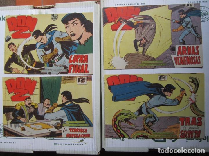 Tebeos: DON Z , 90 ejemplarres , coleccion completa , maga 1959 , original , cada uno en su funda - Foto 31 - 177654960