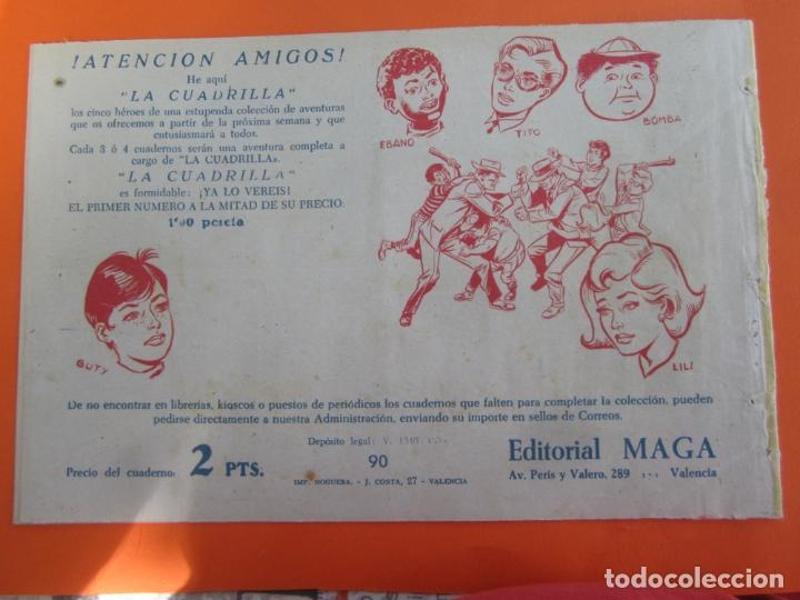Tebeos: DON Z , 90 ejemplarres , coleccion completa , maga 1959 , original , cada uno en su funda - Foto 35 - 177654960