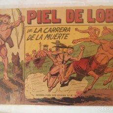Tebeos: PIEL DE LOBO ORIGINAL Nº6. Lote 177664100
