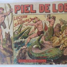 Giornalini: PIEL DE LOBO Nº15 LUCHAN LOS SAURIOS. Lote 177794112