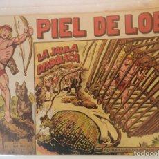 Tebeos: PIEL DE LOBO Nº21 LA JAULA DIABOLICA. Lote 177794545