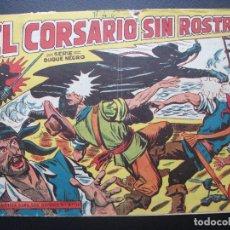Livros de Banda Desenhada: EL CORSARIO SIN ROSTRO Nº 1, MAGA. Lote 178057755