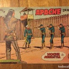 Tebeos: APACHE, 2ª PARTE - Nº 32 - MAGA, ORIGINAL - GCH. Lote 178084988