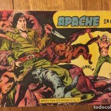 Tebeos: APACHE, 2ª PARTE - Nº 7 - MAGA, ORIGINAL - GCH. Lote 178085357