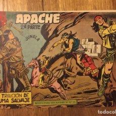 Tebeos: APACHE, 2ª PARTE - Nº 11 - MAGA, ORIGINAL - GCH. Lote 178085595