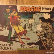 Tebeos: APACHE, 2ª PARTE - Nº 12 - MAGA, ORIGINAL - GCH. Lote 178085732