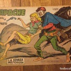 Tebeos: APACHE, 2ª PARTE - Nº 25 - MAGA, ORIGINAL - GCH. Lote 178085793