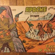 Tebeos: APACHE, 2ª PARTE - Nº 37 - MAGA, ORIGINAL - GCH. Lote 178085865