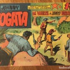 Tebeos: JOHNNY FOGATA, Nº 9 - MAGA, ORIGINAL - GCH. Lote 178090549