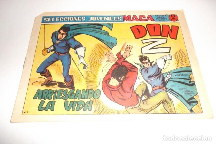 DON Z Nº 2 ARRIESGANDO LA VIDA (Tebeos y Comics - Maga - Don Z)