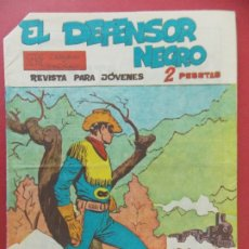 Tebeos: COMIC , REVISTA , EL DEFENSOR NEGRO Nº 37 - SERIE CARAVANAS - EDITORIAL MAGA - 1963 ORIGINAL ..L388. Lote 178292778