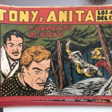 Giornalini: TONY Y ANITA - COLECCIÓN INCOMPLETA COMPUESTA POR 35 CÓMICS. Lote 178558465