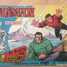 Tebeos: OLIMAN, Nº 56 - MAGA, ORIGINAL - GCH. Lote 178567020