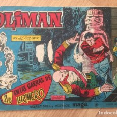 Tebeos: OLIMAN, Nº 63 - MAGA, ORIGINAL - GCH. Lote 178567123