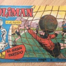 Tebeos: OLIMAN, Nº 66 - MAGA, ORIGINAL - GCH. Lote 178567216