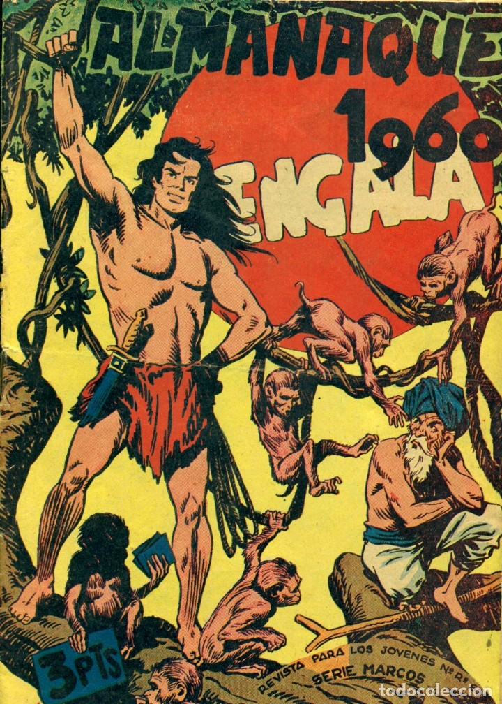 BENGALA: ALMANAQUE 1960 (Tebeos y Comics - Maga - Bengala)