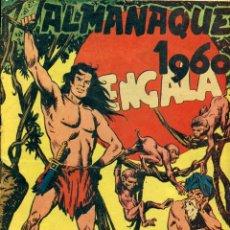Tebeos: BENGALA: ALMANAQUE 1960. Lote 178650623