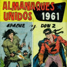 Livros de Banda Desenhada: ALMANAQUES UNIDOS 1961: APACHE Y DON Z. Lote 178651193