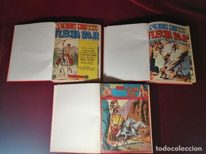 COLECCIÓN COMPLETA PANTERA NEGRA Y FLECHA ROJA / FLECHA ROJA LEYENDAS GRAFICAS MAGA 1964 , (Tebeos y Comics - Maga - Flecha Roja)