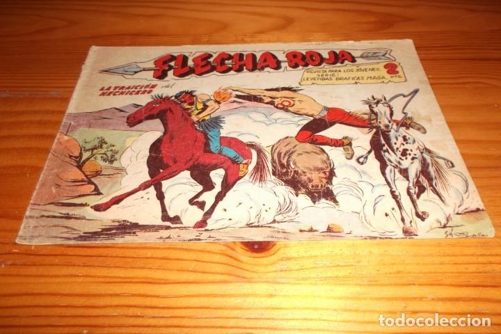 FLECHA ROJA - LA TRAICION DEL HECHICERO - NUMERO 41 (Tebeos y Comics - Maga - Flecha Roja)