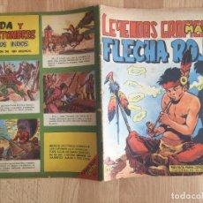 Tebeos: FLECHA ROJA, Nº 33 - SERIE LEYENDAS GRAFICAS - MAGA, ORIGINAL - GCH. Lote 178932057