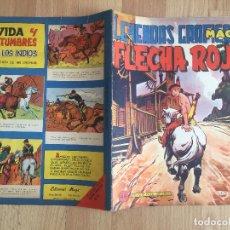 Tebeos: FLECHA ROJA, Nº 44 - SERIE LEYENDAS GRAFICAS - MAGA, ORIGINAL - GCH. Lote 178932288