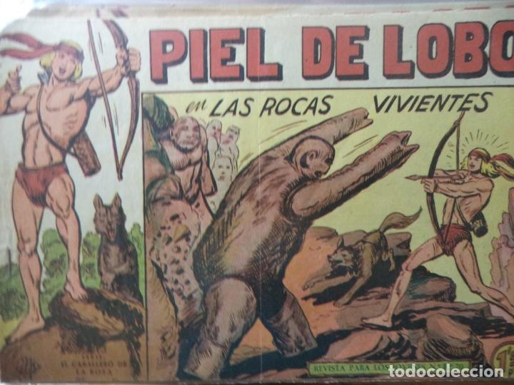 PIEL DE LOBO Nº35 ORIGINAL (Tebeos y Comics - Maga - Piel de Lobo)