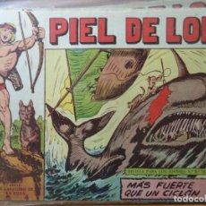 Tebeos: PIEL DE LOBO Nº 39 ORIGINAL. Lote 178957952
