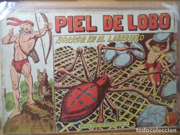 PIEL DE LOBO Nº 48 (Tebeos y Comics - Maga - Piel de Lobo)