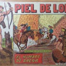 Tebeos: PIEL DE LOBO Nº 50. Lote 178958885