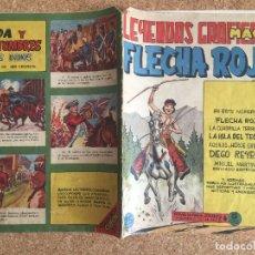 Tebeos: FLECHA ROJA Nº 25 - LEYENDAS GRAFICAS MAGA - ORIGINAL - GCH. Lote 179152103