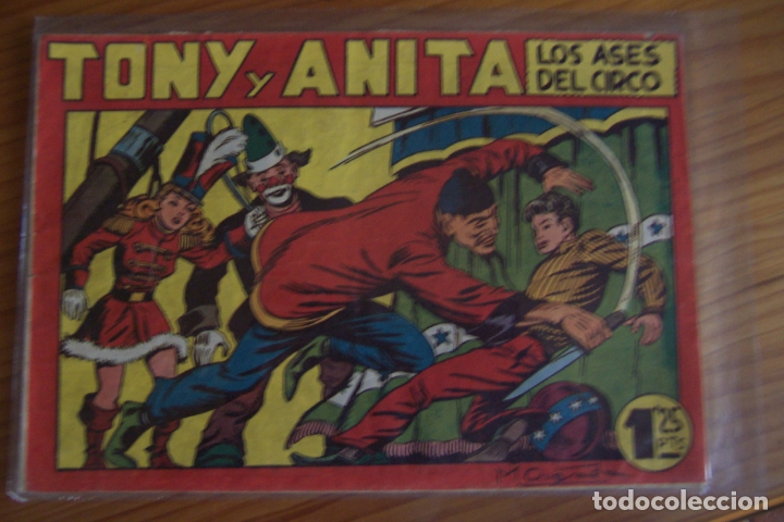 MAGA TONY Y ANITA LOTE VER DETALLES (Tebeos y Comics - Maga - Tony y Anita)