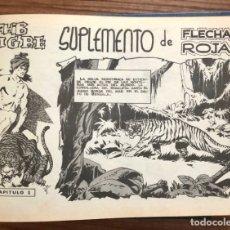 Tebeos: SAHIB TIGRE, EL LEON DE FLORENCIA Y NOBLEZA SALVAJE. MAGA. ENCUADERNADAS EN UN TOMO. ORIGINALES. Lote 181554642