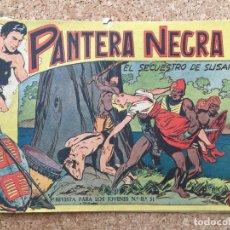 Tebeos: PANTERA NEGRA Nº 44 - MAGA, ORIGINAL - GCH. Lote 181711008